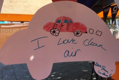 I love clean air car