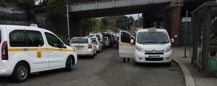 Taxi Drivers #switchoff